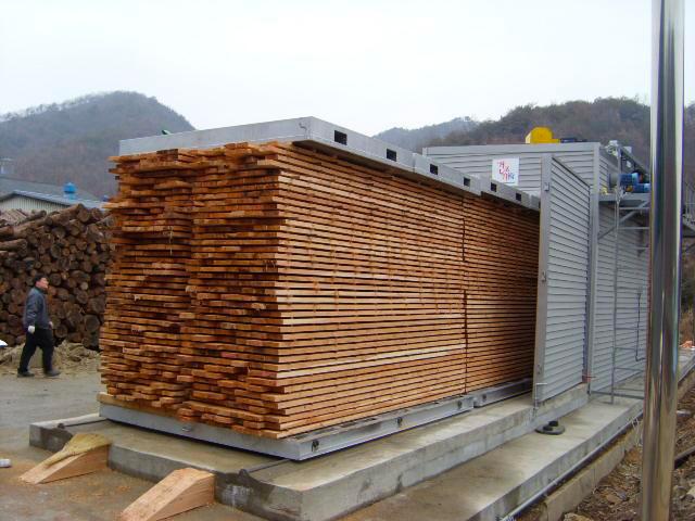 Essicazione legno forzata